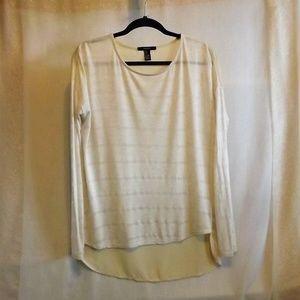 Forever 21 Long Sleeve Blouse Shirt